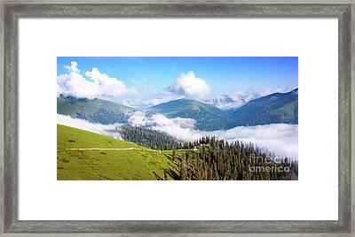 Clouds Framed Print by Svetlana Sewell