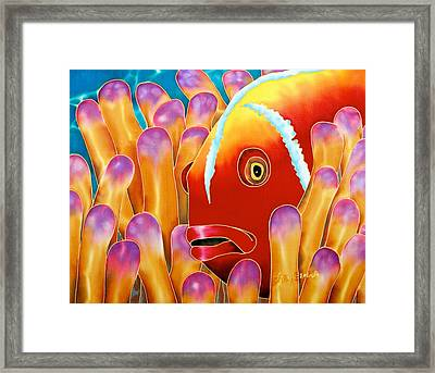 Clown Fish  Framed Print by Daniel Jean-Baptiste