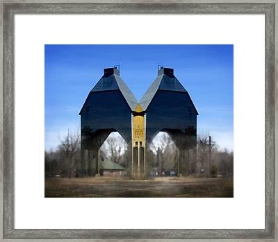 Coal Loader New Buffalo Framed Print by John Hansen