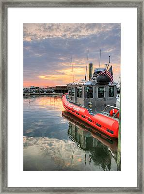 Coast Guard Anacostia Bolling Framed Print by JC Findley