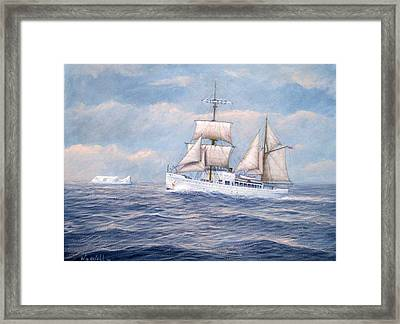 Coast Guard Cutter Northland Framed Print by William H RaVell III