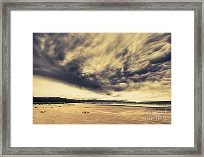Coast Of Marengo Victoria Framed Print by Jorgo Photography - Wall Art Gallery