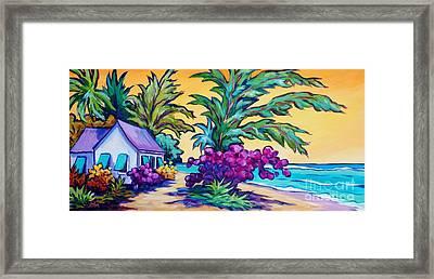 Coast Road Home Framed Print by John Clark