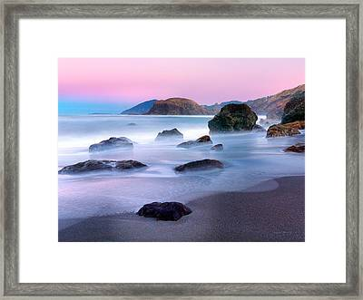 Coastal Atmosphere Framed Print by Leland D Howard