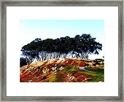 Coastal Cliff Framed Print by Tim Tanis