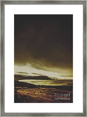Coastal Wash Framed Print by Jorgo Photography - Wall Art Gallery