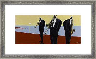 Coastal Winds Framed Print by Darryl Daniels