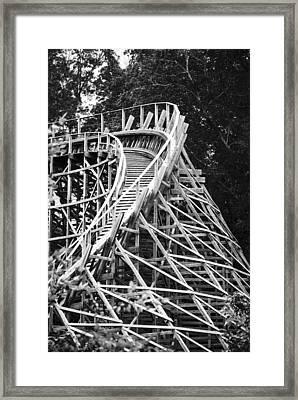 Coasting Framed Print by Christi Kraft