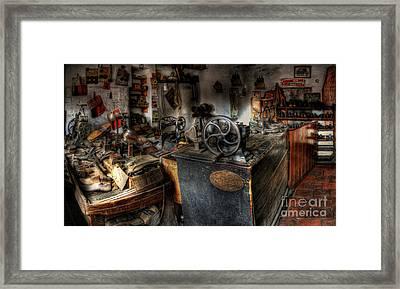 Cobbler's Shop Framed Print by Yhun Suarez