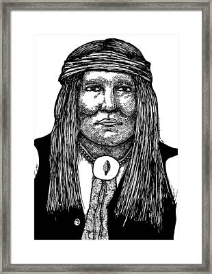 Cochise Framed Print by Karl Addison