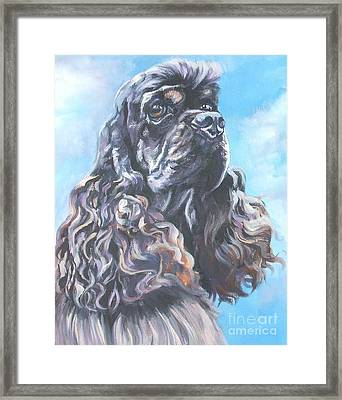 Cocker Spaniel 2 Framed Print by Lee Ann Shepard