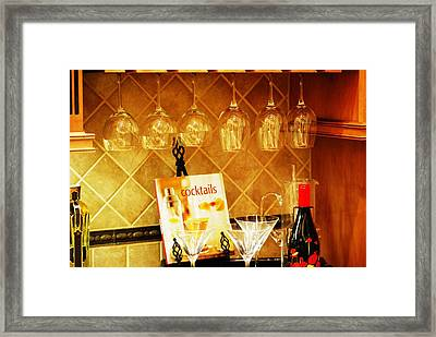 Cocktail Hour Framed Print by Peter  McIntosh