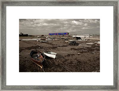 Cockwood Harbour Framed Print by Rob Hawkins