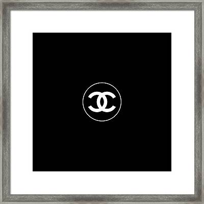 Coco Chanel Framed Print by Tres Chic