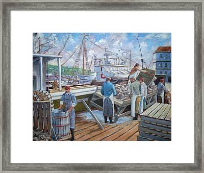 Cod Memories Framed Print by Richard T Pranke
