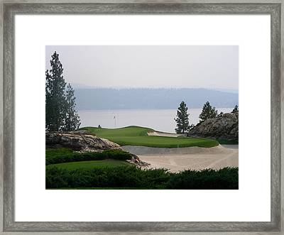 Coeur D Alene Framed Print by Peter  McIntosh