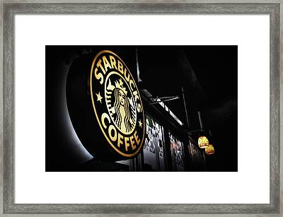 Coffee Break Framed Print by Spencer McDonald