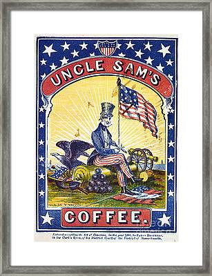 Coffee Label, C1863 Framed Print by Granger