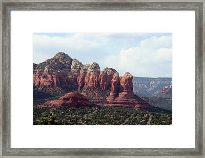 Coffee Pot Rock Framed Print by Ellen Henneke