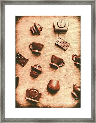 Coffee Shop Iconography  Framed Print by Jorgo Photography - Wall Art Gallery