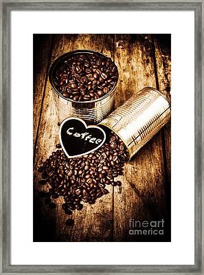Coffee Shop Love Framed Print by Jorgo Photography - Wall Art Gallery