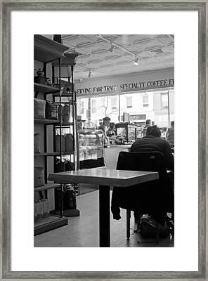 Coffee Shop Framed Print by Randy