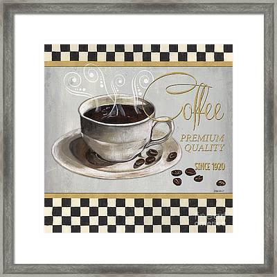 Coffee Shoppe 1 Framed Print by Debbie DeWitt