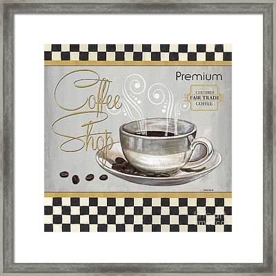 Coffee Shoppe 2 Framed Print by Debbie DeWitt
