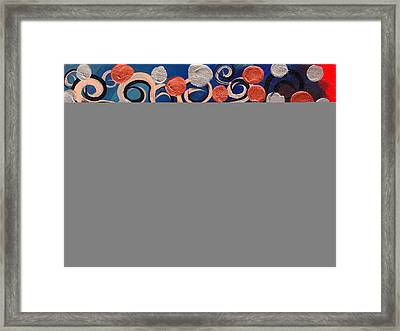 Coin Tree Framed Print by  Abril Andrade Griffith
