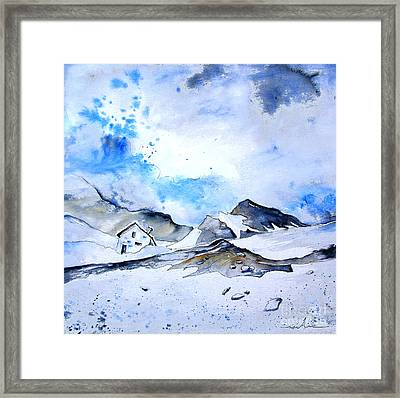 Col Du Pourtalet In The Pyrenees 01 Framed Print by Miki De Goodaboom