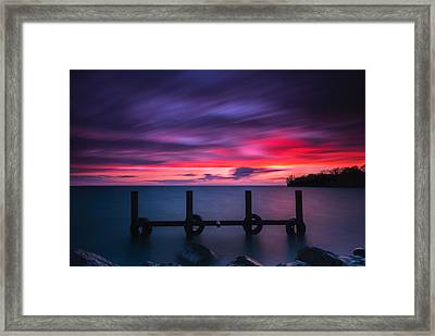 Colchester Harbour Framed Print by Cale Best