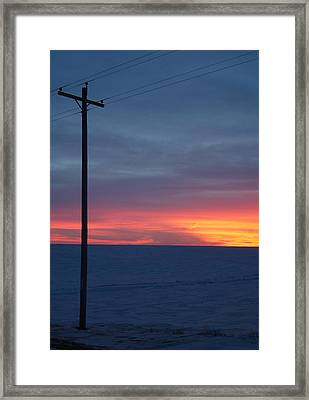 Cold.. Framed Print by Al  Swasey