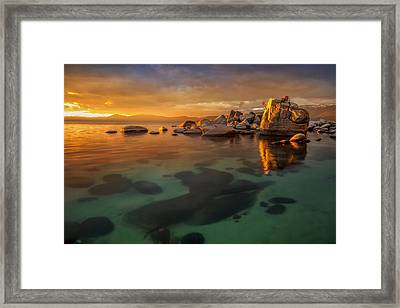 Cold Burn Framed Print by Steve Baranek