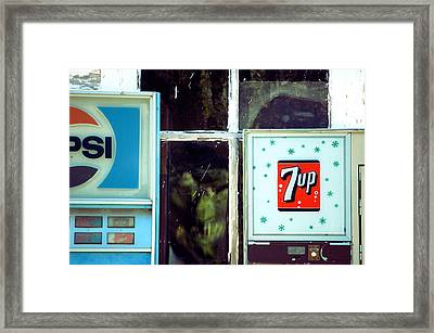 Cold Drink Framed Print by Jame Hayes