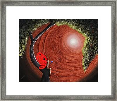 Cold Heart Framed Print by Edwin Alverio