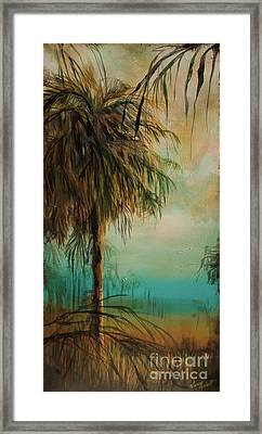 Cold Palm Marsh Framed Print by Michele Hollister - for Nancy Asbell