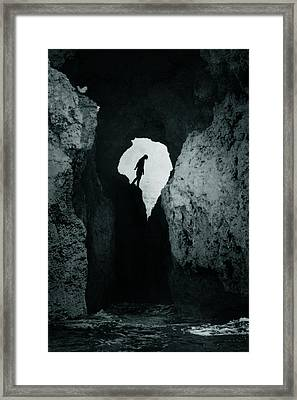 Cold Silence Framed Print by Cambion Art