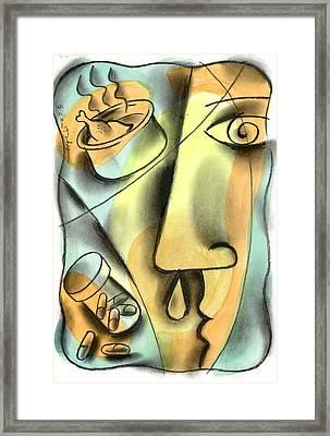 Cold Treatment Framed Print by Leon Zernitsky