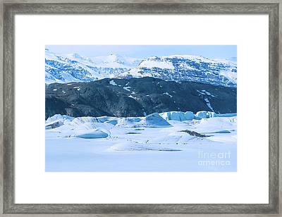 Cold World Framed Print by Svetlana Sewell
