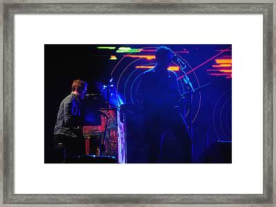 Coldplay2 Framed Print by Rafa Rivas