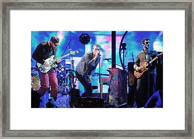 Coldplay7 Framed Print by Rafa Rivas