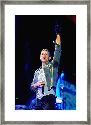 Coldplay8 Framed Print by Rafa Rivas