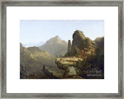 Cole: Last Of The Mohicans Framed Print by Granger
