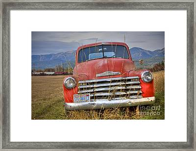 Collecting Weeds Framed Print by Idaho Scenic Images Linda Lantzy