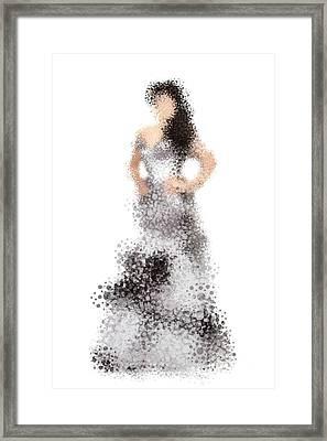 Collette Framed Print by Nancy Levan