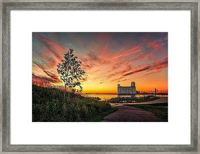 Collimgwood Terminal Framed Print by Jeff S PhotoArt