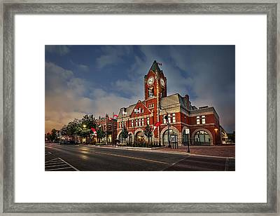 Collingwood Townhall Framed Print by Jeff S PhotoArt
