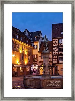 Colmar Evening Framed Print by Brian Jannsen