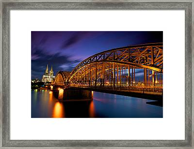 Cologne Cathedral Framed Print by Andre Distel Photography
