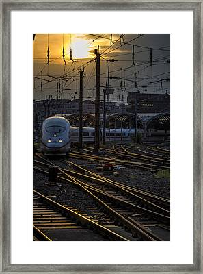 Cologne Central Station Framed Print by Pablo Lopez